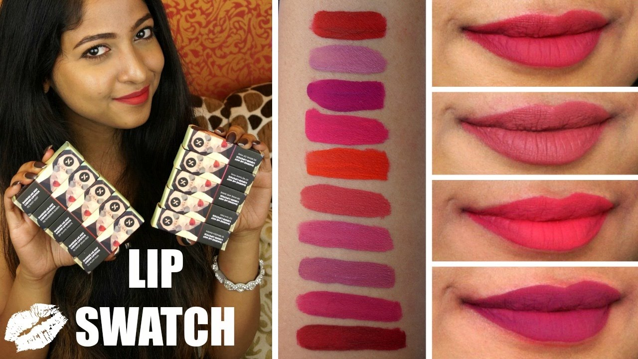 How To Stop Rust >> SUGAR SMUDGE ME NOT Matte Liquid Lipsticks | REVIEW & SWATCHES on Brown Indian Skin |Stacey ...
