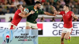 Rugby World Cup 2019: Wales vs. South Africa | EXTENDED HIGHLIGHTS | 10/27/19 | NBC Sports