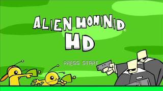 Alien Hominid Music - PDA game