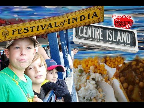 FESTIVAL OF INDIA/ Toronto Island/ Ferry Rides/ Kids taste Krishna Food/ Vegetarian