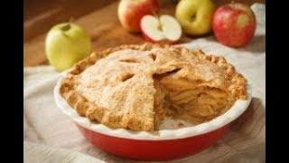Американский яблочный пирог - вкусный и ароматный. Много начинки и мало теста.