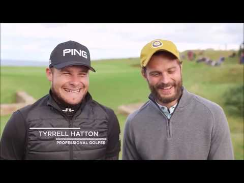 Jamie Dornan - Dunhill Links 2017 Interviews