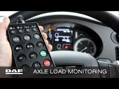 DAF Trucks UK | Axle Load Monitoring Explained | Product Familiarisation