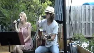 Andrea & Jeremy - Falling Slowly (cover) 6-14-11