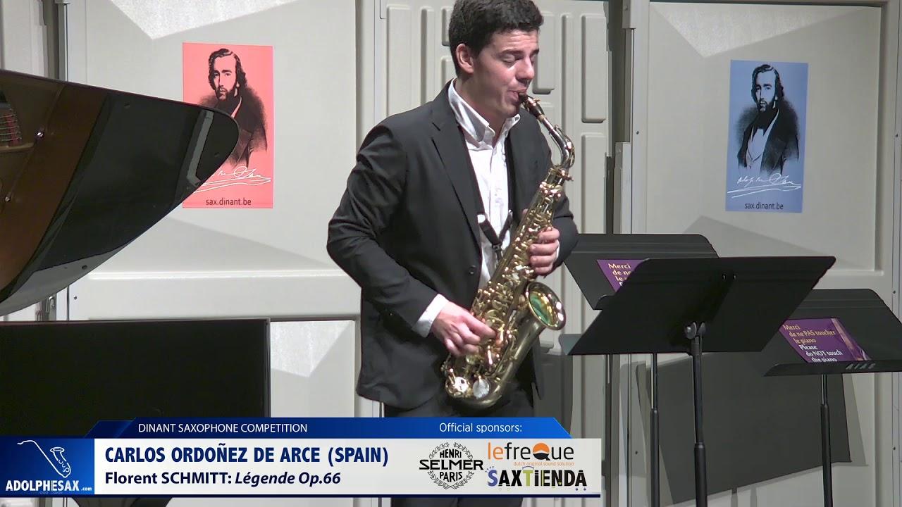 Carlos Ordoñez de Arce (Spain) - Legende Op 66 by Florent Schmitt (Dinant 2019)