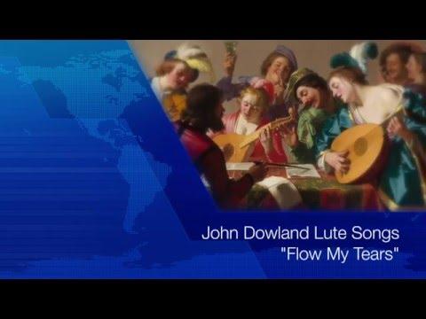 "John Dowland""Flow My Tears""(Lute Songs KARAOKE with Lyrics)"
