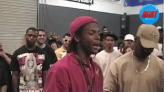 15 year old rapper Miles Low vs MC Yayo: Tryout Rap Battle