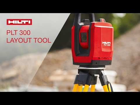INTRODUCING the Hilti positioning layout tool PLT 300