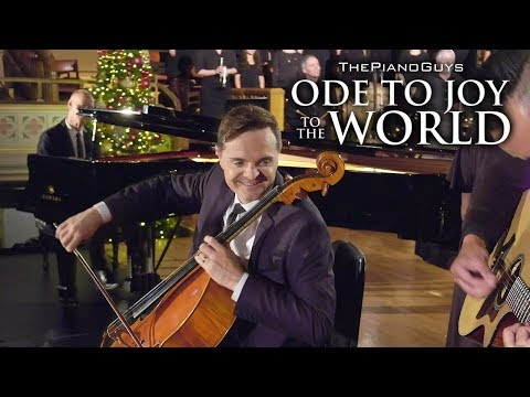 Ode To Joy To The World With Choir & Bell Ringers The Piano Guys