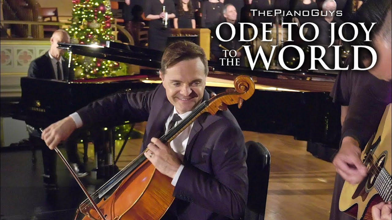 Ode To Joy To The World (With Choir & Bell Ringers) The Piano Guys #1