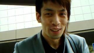 to-k1のライブに向かう風景。 Dr.逢坂俊輝の待ち合わせ。