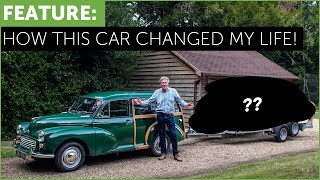 HOW THIS CAR CHANGED MY LIFE - TIFF NEEDELL. Morris 1000 Traveller full story.