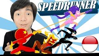 Lari Bareng Yuk - SpeedRunners - Indonesia PC Steam Gameplay