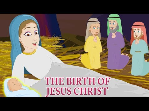 The Birth Of Jesus Christ | Christmas Story For Kids | Animated Children's Bible Stories  Holy Tales