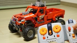 Lego Technic 42029 RC Motorized Pick-Up Truck with EV3 (including 24 options) by 뿡대디
