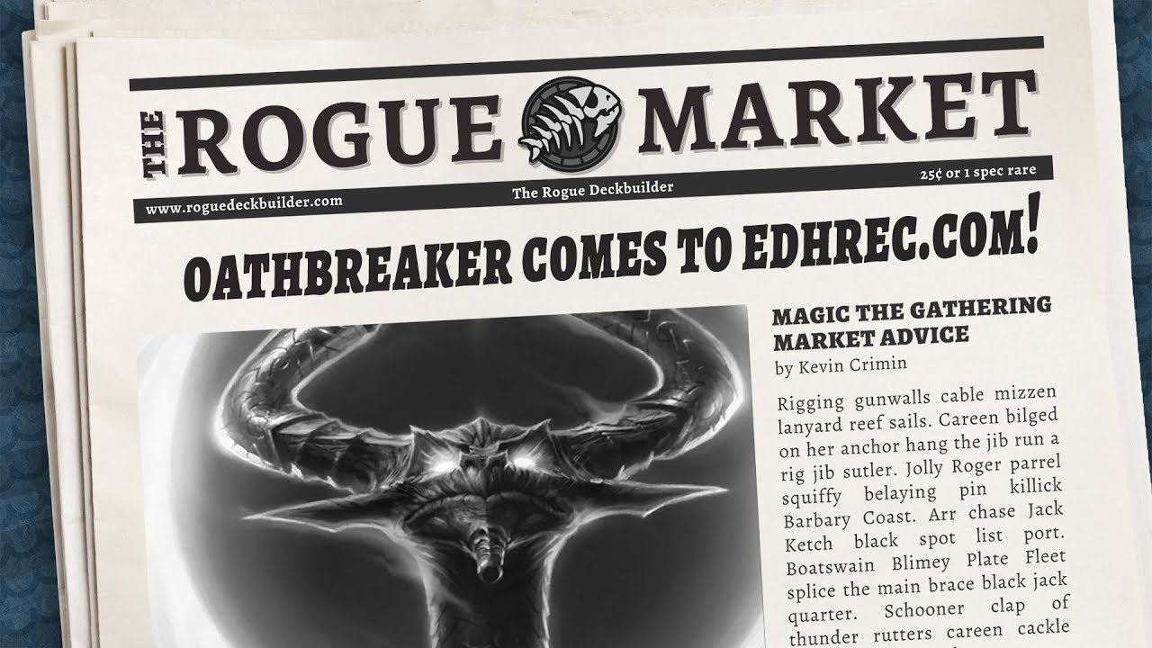 Oathbreaker stats come to EDHREC com!