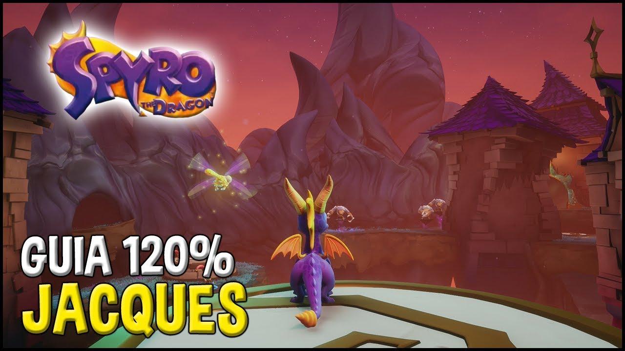 Download Spyro 1 (Reignited Trilogy) Guia 120%: JACQUES