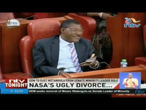 Wetangula says NASA's divorce will be messy and ugly as ODM pushes to oust him
