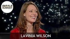 Lavinia Wilson: Liebesszenen besser gleich zu Drehbeginn abdrehen | Die Harald Schmidt Show (SKY)