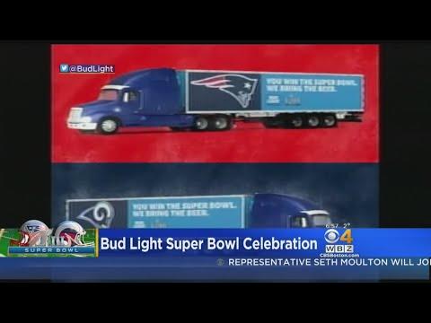 Bob Delmont - Free Beer to winning Super Bowl city!