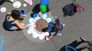 Creative Crosswalk comes to Life