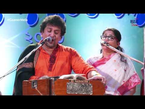 Aji Subho Dine Pitar Bhobone   Manoj and Manisha Murali Nair   আজি শুভ দিনে পিতার ভবনে