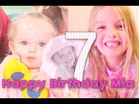 Happy 7th Birthday Mia Talerico ♥