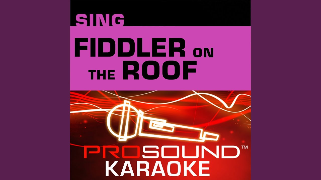 Sabbath Prayer Karaoke Instrumental Track In The Style