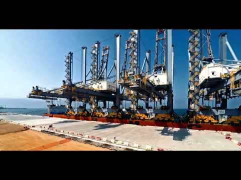 DP World Yarimca Cranes Arrival