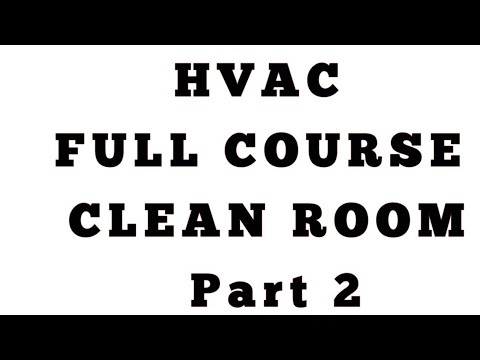 Clean Room part 2 ll HVAC Questions and Answers
