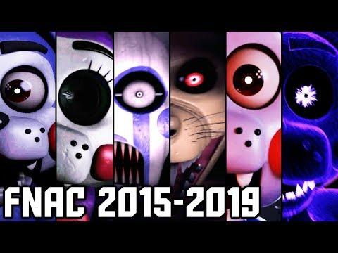 Evolution of FNAC Jumpscares (2015-2019)