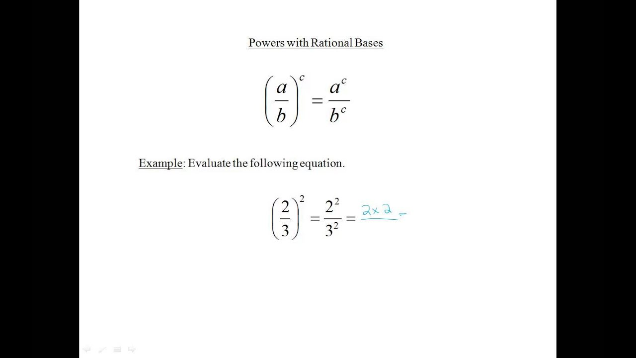 Solving Equations With Rational Exponents Khan Academy
