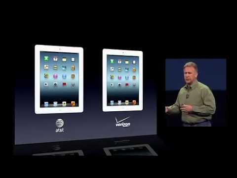 WWDC 2012 Apple iPad 3 - Presentazione iPad 3rd generation