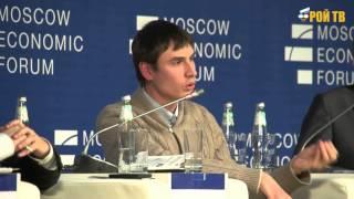 Мельниченко и Шаргунов на МЭФ-2014