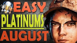 Easiest Platinum Games For PS4 in August 2018 | Price/Time/Difficulty | Easy PS4 Trophies