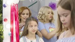 Kokarda na włosach DIY (My3 Odcinek 21) My3 - TV dla Dzieci