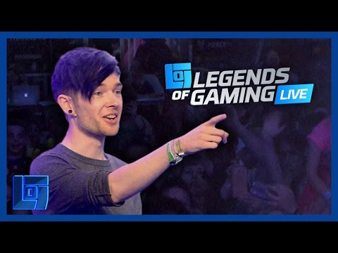 DanTDM Answers Your Questions - Legends Of Gaming Live 2016