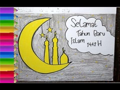 Gambar Selamat Tahun Baru Islam 1 Muharram 1442 Hijriyah Poster Tahun Baru Youtube