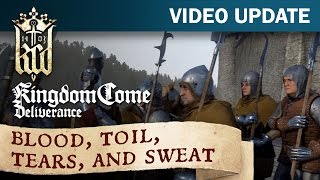 Kingdom Come: Deliverance Video Update #16: Blood, toil, tears, and sweat(We happily present the latest development progresses and status of Kingdom Come: Deliverance. In this new video, we delve into the internal Alpha which ..., 2016-12-08T14:57:43.000Z)