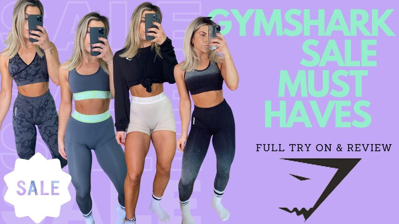 GYMSHARK SALE FAVORITES!! Full REVIEW & TRY ON!