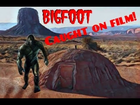 nouvel ordre mondial | Bigfoot on the Navajo, USA - November 2017