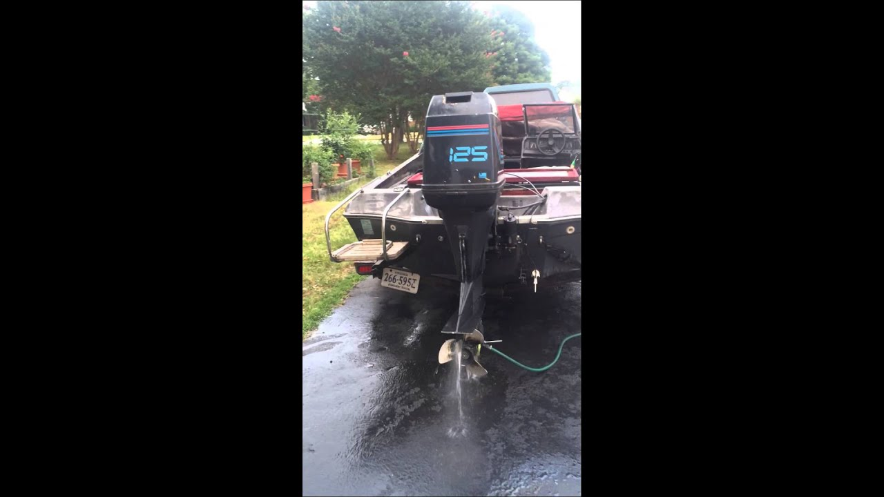 125 Hp Force Outboard Youtube