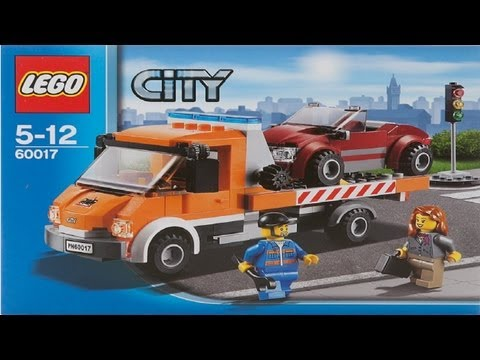 Lego City Instructions For 60017 Flatbed Truck
