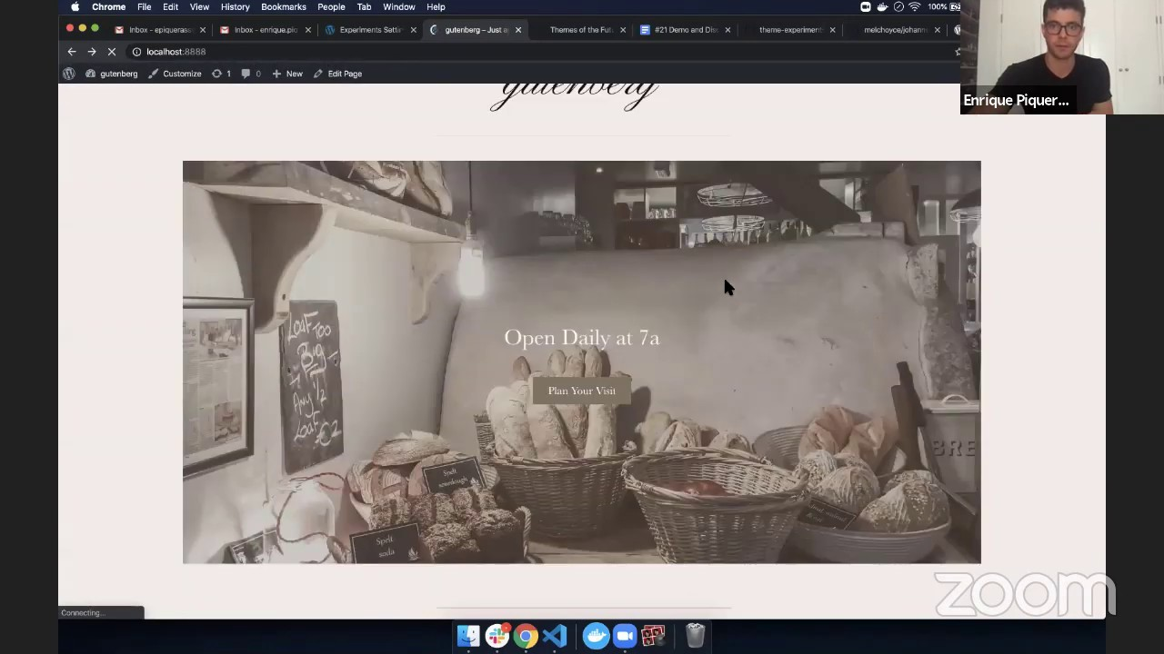 Theme templates in a Full Site Editing experience with Enrique ...