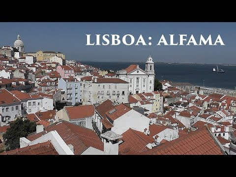 LISBOA: Alfama - oldest district (1/5) Portugal HD
