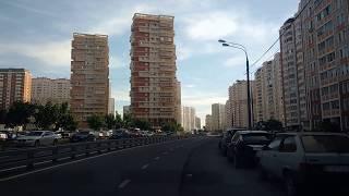 . Люберцы-Поездка по городу на автомобиле