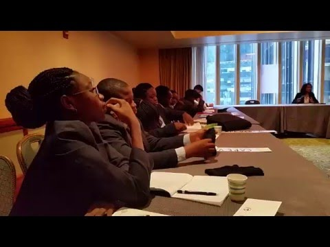 The White Dove Schools @ The UN Conference in New York 2016
