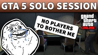 GTA 5 Solo Public Lobby | GTA ONLINE HOW TO CREATE A SOLO PUBLIC SESSION (100% Working PC 2019)