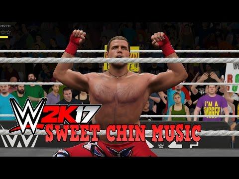 WWE 2K17 - SHAWN MICHAELS SWEET CHIN MUSIC COMPILATION!