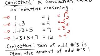 How to Math: 1.1 Patterns and Inductive Reasoning
